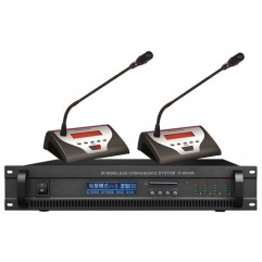 IR Wireless Discussion & Voting & Video Auto Track Conference System