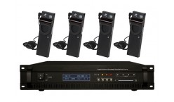 4/8/12/16/32 Channel Digital Infrared Wireless Language Distribution System