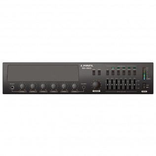 ED-120/ED-240/ED-360/ED-480L/ED-600L 5 Zone Digital Mixer Amplifier with Remote Paging