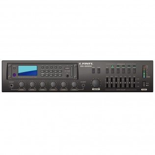 ED-120M/ED-240M/ED-360M/ED-480M/ED-600M 5 Zone Digital Mixer Amplifier with MP3 Record Player/Digital Tuner/Remote Paging