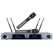 H-77B 200 Channel UHF True Diversity Wireless Microphone