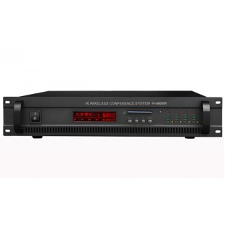 H-8500M Infrared Wireless Conference System Main Unit