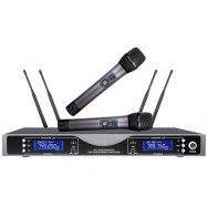 H-88B 200 Channel UHF True Diversity Wireless Microphone