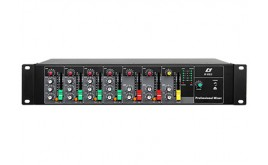 H-G08/2 8 Channel Professional Mixing Console