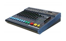 H-KF12/2 12 Channel Professional Mixing Console with USB Recording