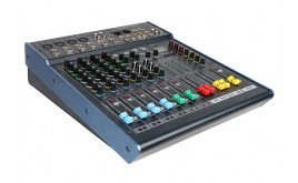 H-KF8/2 8 Channel Professional Mixing Console with USB Recording