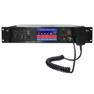 M-1116 10 Zone Intelligent Public Address System Control Center