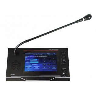 M-6588 Intelligent Network Paging Microphone Station