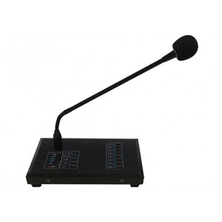 M-808R 8 Zone Remote Paging Microphone