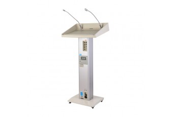 PP-8430UR Portable Wireless PA Amplifier Lectern (MP3/Tuner/USB/SD)